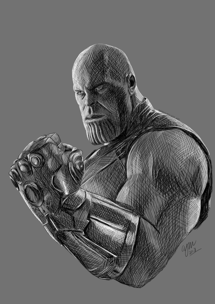PRINTS - Thanos (Marvel)