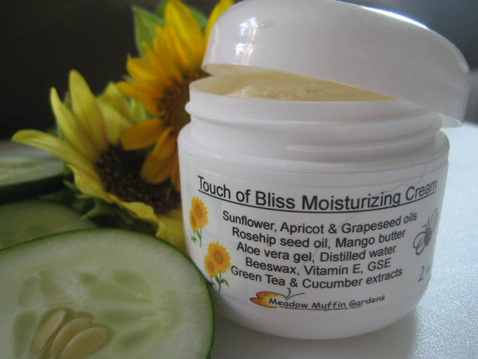 Touch of Bliss Facial Cream, Skin Food, Natural Skin Care, Mango Butter, Plant