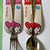 sanrio my melody spoon and fork set