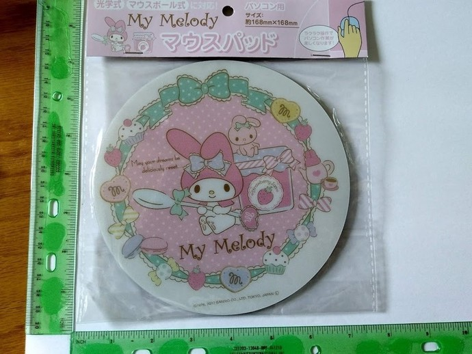 my melody mouth pads sanrio imported from japan