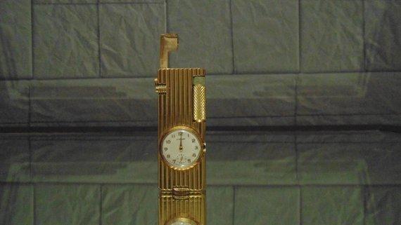"""Vintage lighter clock """"Le Briquet"""""""