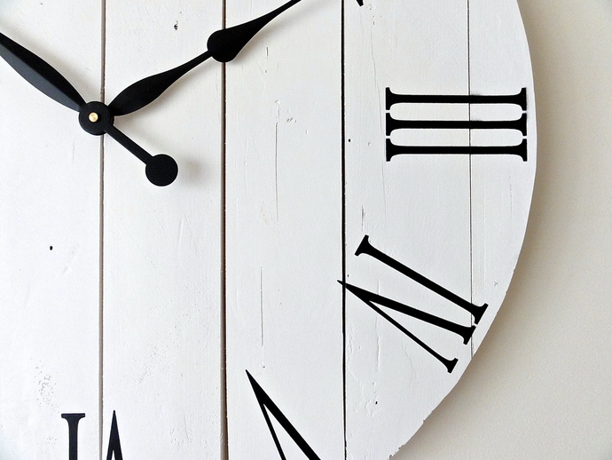 Large Wall Clock. Living Room Decor