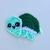 Kawaii Turtle Applique Crochet Pattern - PATTERN ONLY - Instant Download