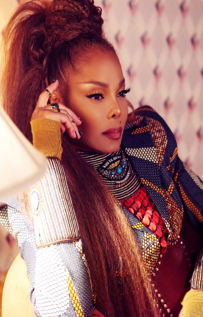 """Janet Jackson Made For Now Canvas Print (13""""x19"""" or 18""""x28"""")"""