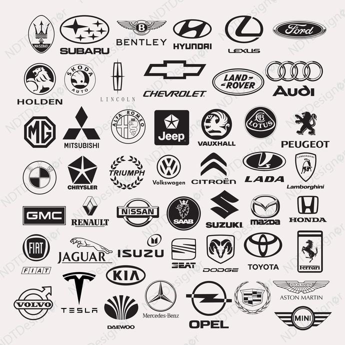 Car Logo Svg Eps Png Jpg Cliparts Printable By Ndtdesigner On Zibbet