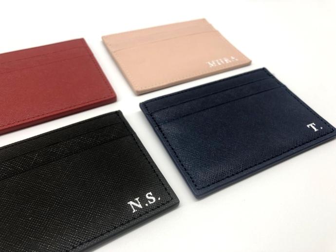 personalized card holder monogram card holder - Personalized Card Holder
