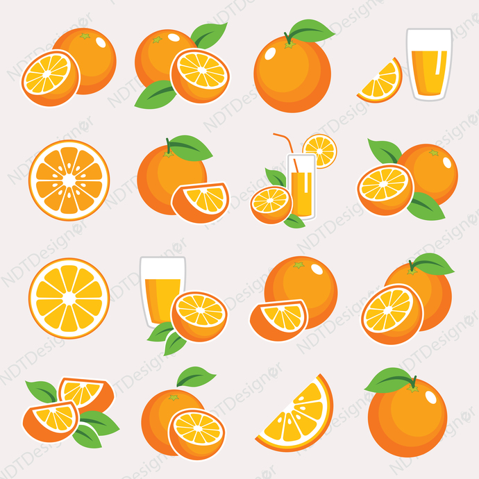 Orange Svg/Eps/Png/Jpg/Cliparts,Printable, Silhouette and Cricut File !!!