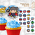 Avengers MXYZ Style Cupcake Toppers: Digital File