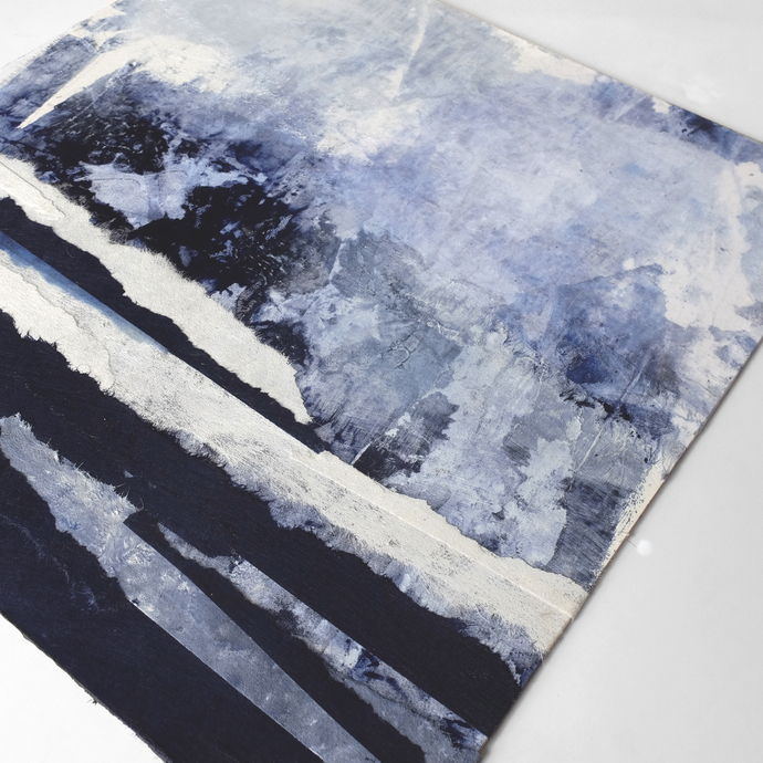 Home decor, medium painting, wall art, Landscape Painting, Contemporary Art,