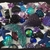"Gothic glitter ""Galaxy"" mermaid themed decoden kit. Purple, teal, green, blue,"
