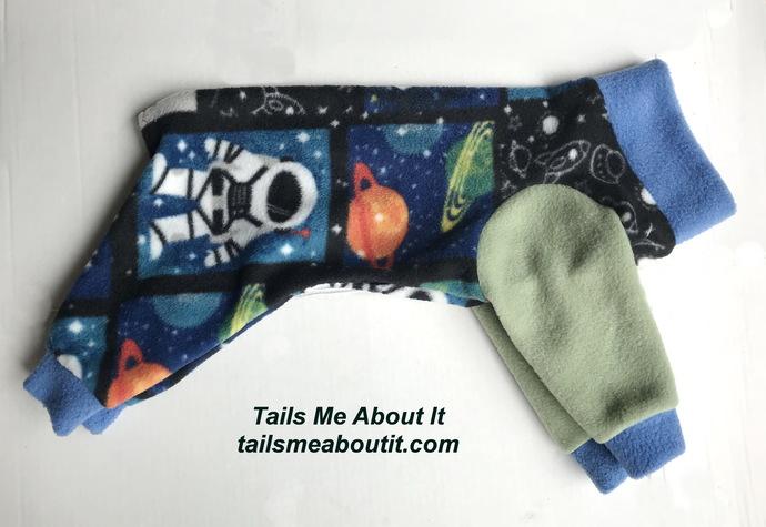 Interstellar Fleece Dog Pajama