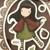 Little Red Gorjuss Girls Stamps Set by Docrafts Santoro - 6.5''x5'' - Glam