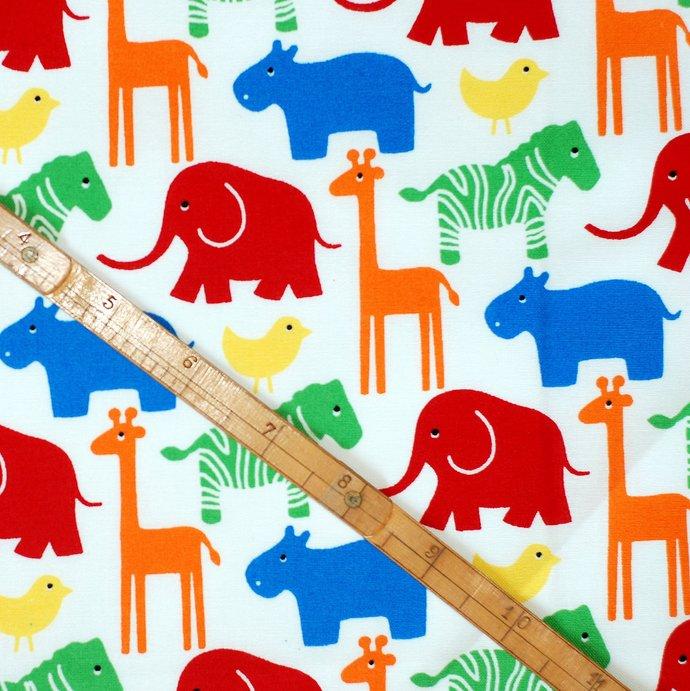 Young Fun 6 Fat Quarter Fabric Bundle - 100% cotton- colourful children's prints