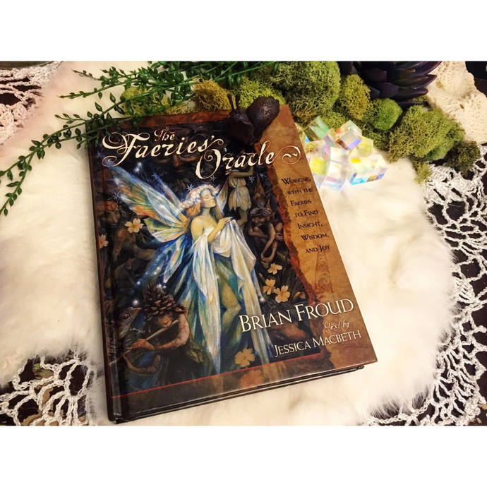 ON SALE The Faeries Oracle Brian Froud Hardcover BOOK ONLY- no cards