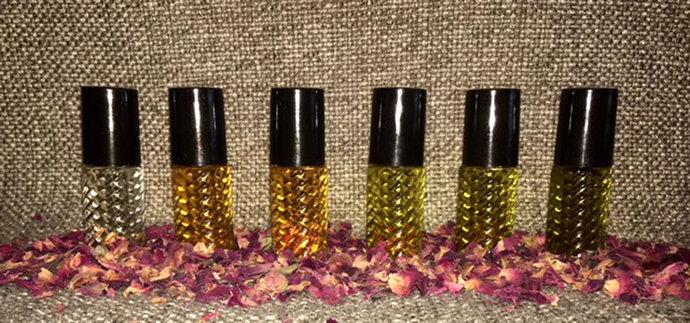 Cleopatra Era Perfume #2,.5ml Glam Roller Bottle Susinum Blue Lotus Rose Myrrh