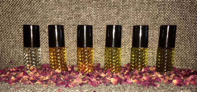 Cleopatra Own Perfume Blend #1, .5 ml Glam Roller Bottle Her Original Personal