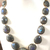 925 Sterling Silver Faceted Natural Labradorite White Topaz  Royal Chain Jewelry