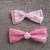 1 x Lace/Ribbon Shabby Bows - Reduced to clear