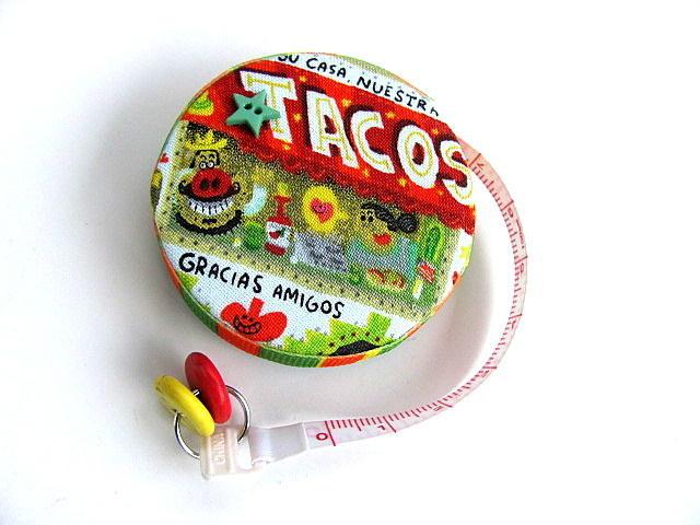 Tape Measure Tacos Retractable Pocket Measuring Tape