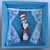 """Small open shadowbox with 3D """"Cat in the Hat"""""""