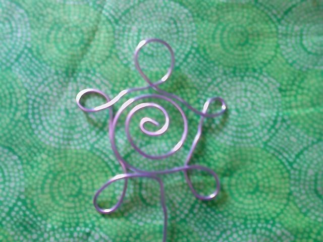 place card holders Turtle Wire swirl photo | Bitspeaces