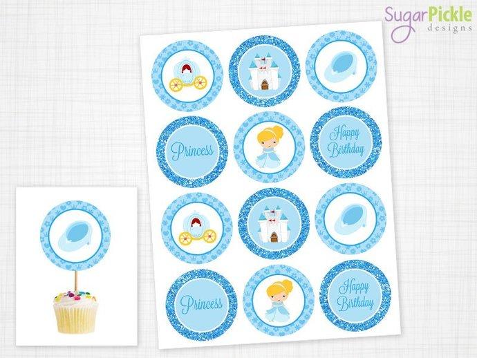 Cinderella Party Mini Set - Cinderella Party Printables - Cinderella Birthday -