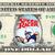 SPEED RACER on a REAL Dollar Bill Disney Cash Money Collectible Memorabilia