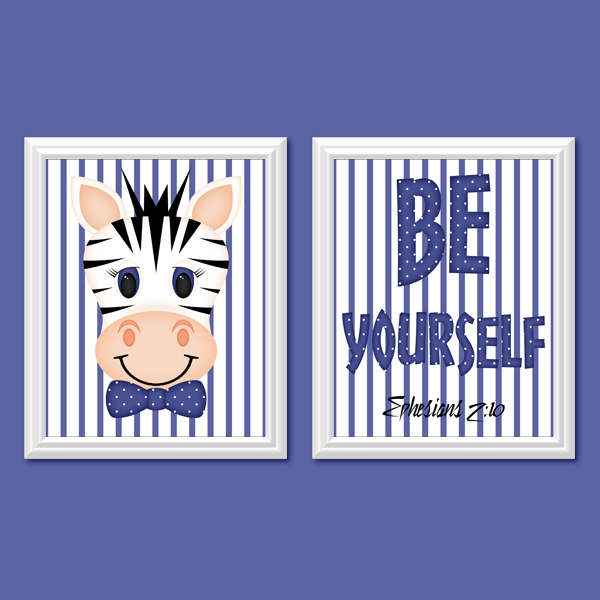 Be yourself_Boy Set 6 - Printable Wall Art