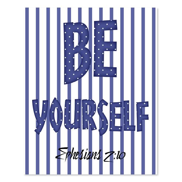 Be yourself_Boy Set 6 - Printable Wall Art