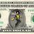 WASP Marvel on a REAL Dollar Bill Disney Cash Money Collectible Memorabilia
