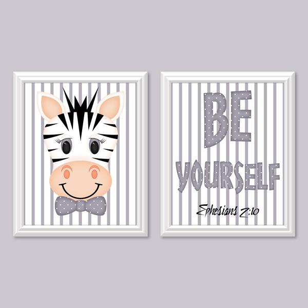Be Yourself_Boy Set 5 - Printable Wall Art