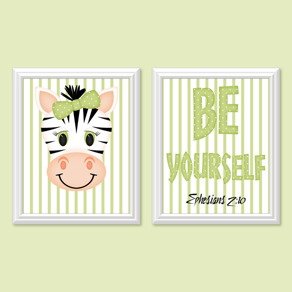 Be Yourself_Girl Set 2 - Printable Wall Art