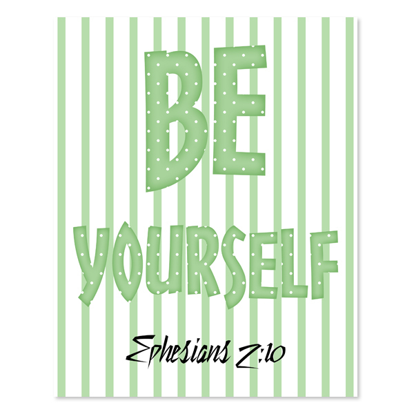 Be Yourself_Boy Set 2 - Printable Wall Art