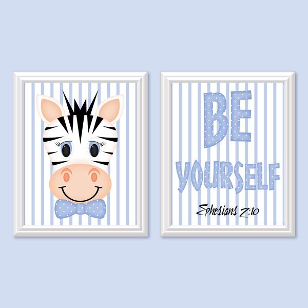 Be Yourself_Boy Set 1 - Printable Wall Art