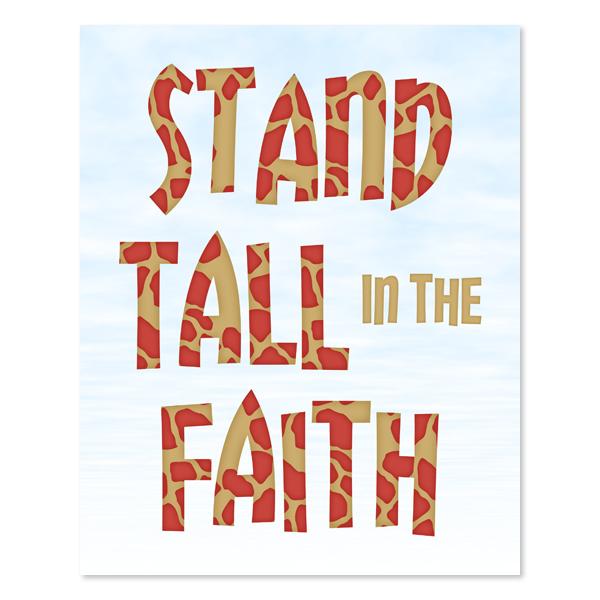 Stand Tall_Set 2 - Printable Wall Art
