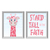 Stand Tall_Set 4 - Printable Wall Art