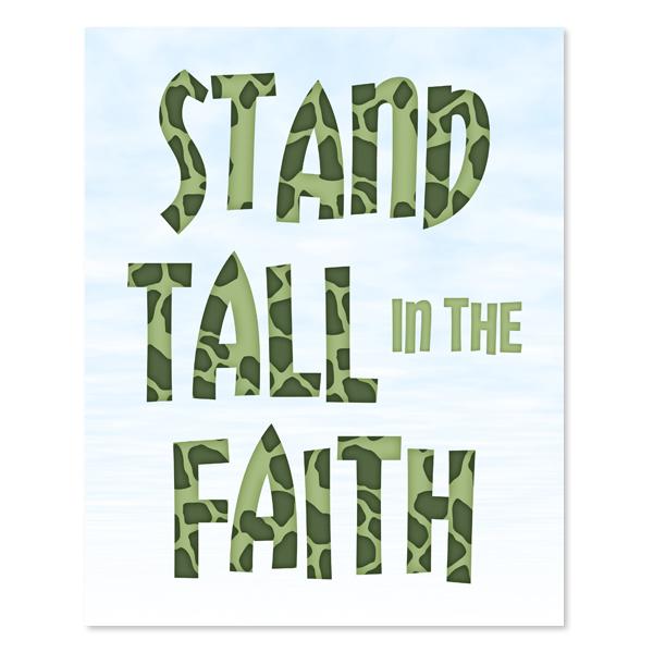 Stand Tall_Set 6 - Printable wall Art