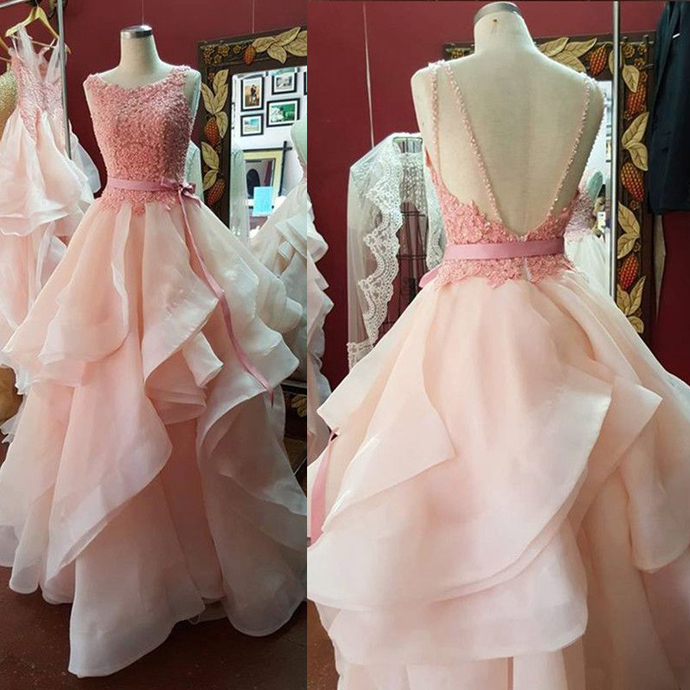 Prom Dressesprincess Prom Dressball Gown Prom By Lass On Zibbet