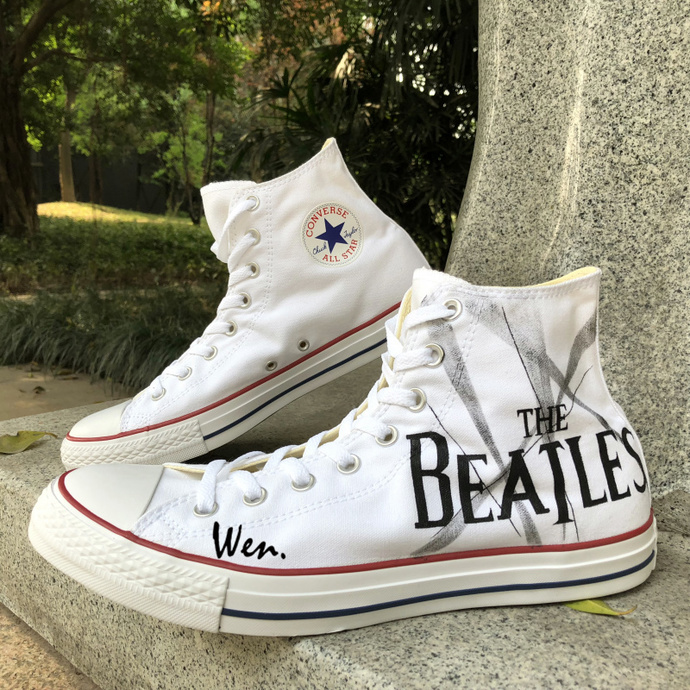 The Beatles Custom Converse All Stars in 2019 | Converse