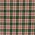 Festive Robin 6 fat quarter fabric bundle 100 % cotton red green gold stars
