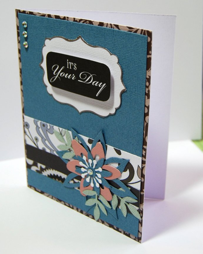 Its Your Day Handmade Greeting Card Light By Smiles4paper On