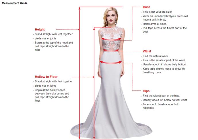 Spaghetti Straps Prom Dresses, Beading A-Line Prom Dress