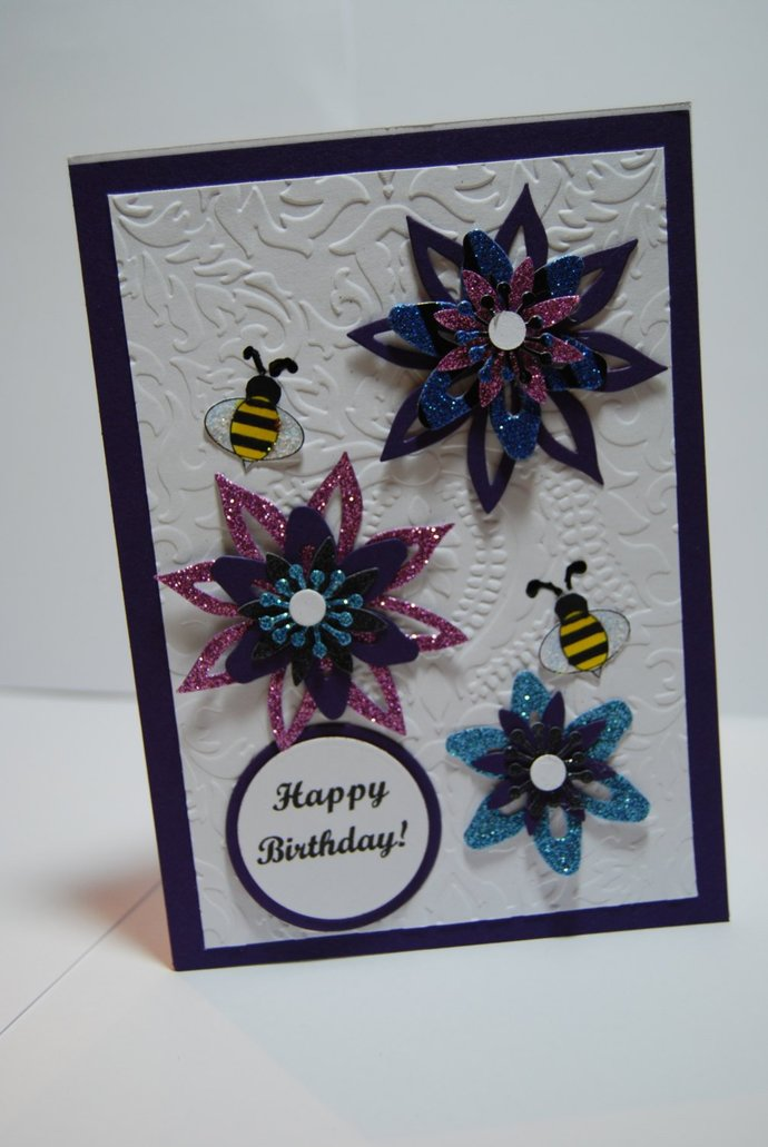 Birthday Card Handmade Greeting Card By Smiles4paper On Zibbet