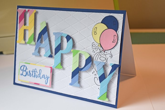 Happy birthday eclipse card handmade by smiles4paper on zibbet happy birthday eclipse card handmade greeting card ready to ship m4hsunfo
