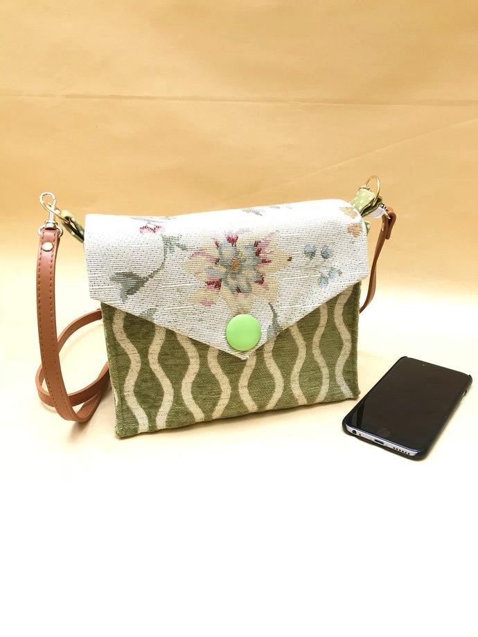 4f0e78b5d5 Cross body bag. Shoulder bag for women. Crossover purse. Adjustable strap.