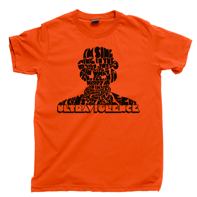 A Clockwork Orange Men's T Shirt, Ultraviolence Droogs Moloko Plus Vellocet
