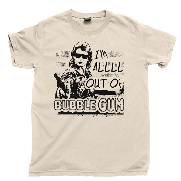 They Live Men's T Shirt, I'm All Out Of Bubblegum Rowdy Roddy Piper John