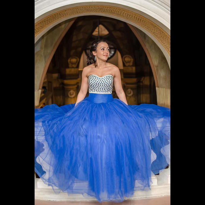 Royal Blue Ball Gown Prom Dresses 2018 Sweetheart by dresses on Zibbet