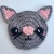 Kawaii Kitty Cat Applique Crochet Pattern - PATTERN ONLY - Instant Download