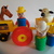 Vintage Fisher Price Little People Cowboy-Tractor and Animals